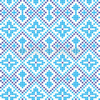 Embroidery From The Ukraine Seamless Vector Pattern Design