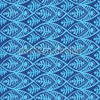 Maori Fische Vektor Muster