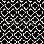 Quatrefoil In The Dark Pattern Design
