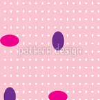 Gemstone Crisscross Seamless Vector Pattern Design