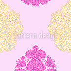 Paisley Brocade Seamless Vector Pattern Design