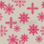 Eiskristalle Pink Nahtloses Vektormuster