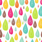 Drop Drop Seamless Vector Pattern Design
