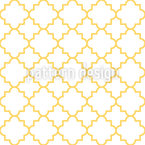 Traditionelles Quatrefoil Muster Design