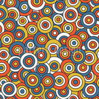 Circles On Circles Seamless Pattern