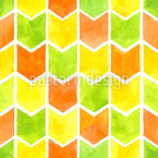 Summer Zigzag Seamless Vector Pattern Design