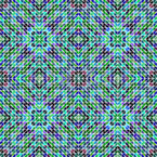 Mosaic Dimension Seamless Vector Pattern Design