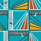 Windows To The Modern Art Seamless Vector Pattern Design