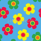 Small Flowers Bring Back Summer Seamless Vector Pattern Design