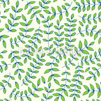 Leaf Of Joy Seamless Vector Pattern Design