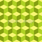Cube In The Spring Seamless Vector Pattern Design