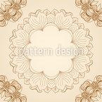 Floral Nostalgia Seamless Pattern
