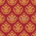 Indian Damask Seamless Vector Pattern Design