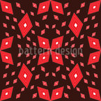 Matrix Of Rhombs Seamless Vector Pattern Design