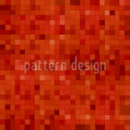 Hot Mosaic Seamless Vector Pattern