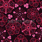 Love For Flowers Seamless Vector Pattern Design