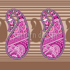 Oriental Paisley Vector Ornament