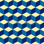 Cube Seamless Vector Pattern Design