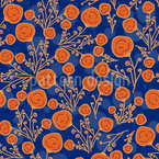 Rosen Knospen Vektor Muster