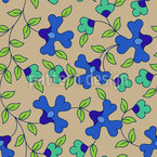 In Full Bloom Seamless Vector Pattern Design