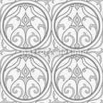 Shy Loretta Seamless Vector Pattern Design