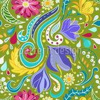 Fantasie Flora Musterdesign