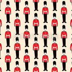 Britische Parade Nahtloses Vektor Muster