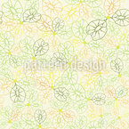 Elm Seeds Seamless Vector Pattern Design