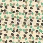 Leaves of Autumn Vector Pattern