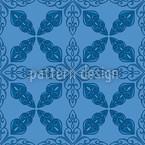 Marokkanisches Blau Vektor Design