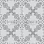 Marokkanisches Grau Nahtloses Vektormuster