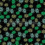 Eschen Blätter Nahtloses Vektormuster