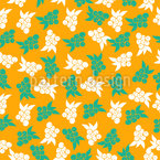 Berry Harvest Seamless Vector Pattern Design
