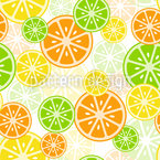 Citrus Zing Seamless Vector Pattern Design