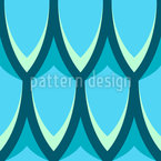 Dragon Skin Seamless Vector Pattern Design