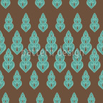 Delilahs Night Turquoise Seamless Vector Pattern Design