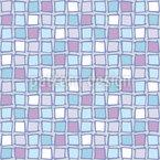 Mosaik Glas Quadrate Rapportiertes Design