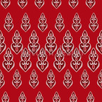 Delilahs Night Red Seamless Vector Pattern Design