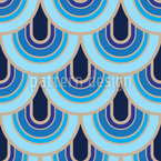 Balanzas Retro Estampado Vectorial Sin Costura