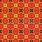 Afrikanische Geometrie Muster Design