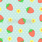 Strawberry Sundae Repeat Pattern