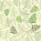 Farn Blätter Vektor Muster