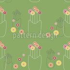 Flower Vase Repeating Pattern