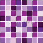 Tile Mosaic Seamless Vector Pattern Design