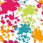 Sprühfarben Spritzer Nahtloses Vektormuster