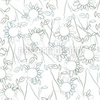 Romantic Florets Seamless Vector Pattern Design