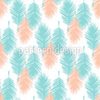 Palm Leaf Tropicana Seamless Vector Pattern