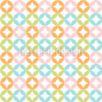 Harlequin Dots Seamless Vector Pattern Design