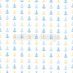 Anchors Up Seamless Vector Pattern Design