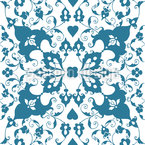 Arabesque Seamless Vector Pattern Design
